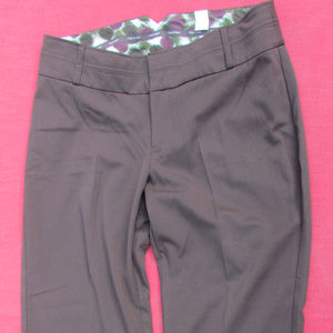 Maurices Brown stretch Trousers size 18 NWT